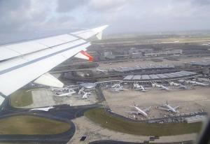 landing at roissy