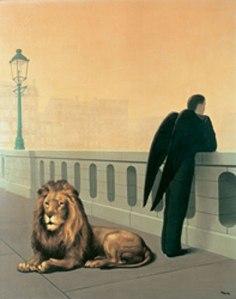 Magritte got it.